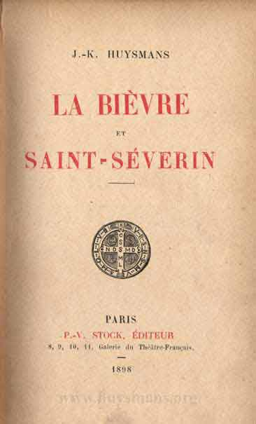 bievre severin cover