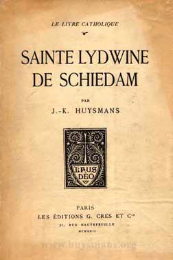lydwine cover